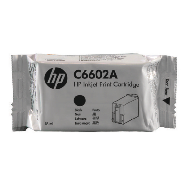 HP 1.0 Black EPOS Inkjet Print Cartridge C6602A