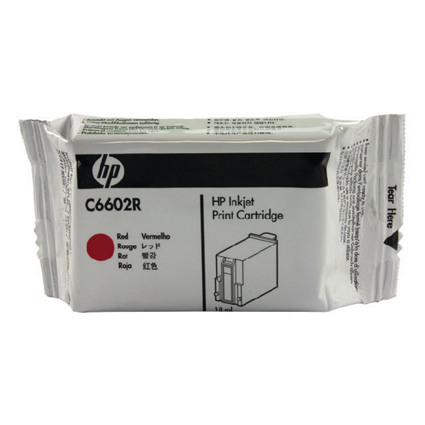 HP 1.0 Red EPOS Inkjet Print Cartridge C6602R