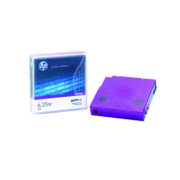 HP Ultrium LTO-6 6.25TB Data Cartridge C7976A
