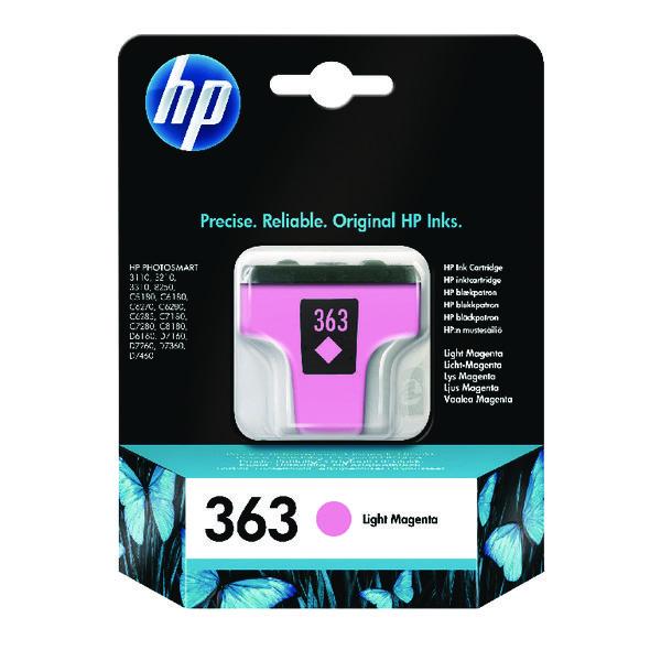 HP 363 Light Magenta Inkjet Cartridge C8775EE