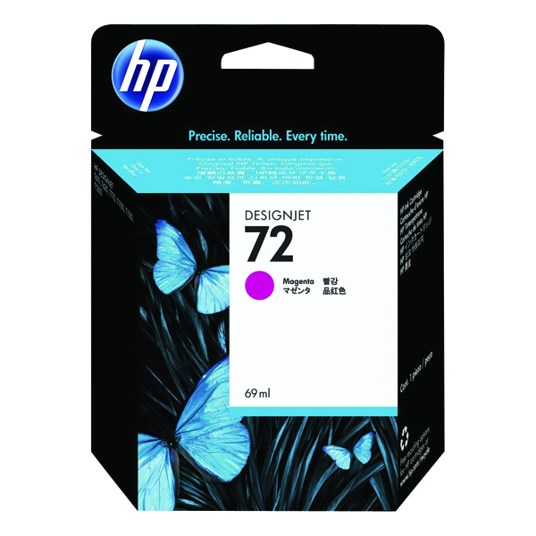 HP 72 Magenta Ink Cartridge (Standard Yield, 69ml Capacity) C9399A