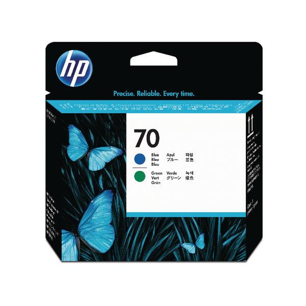 HP 70 Blue/Green Printhead Twin Pack C9408A