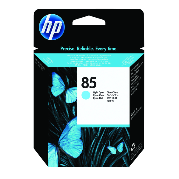 HP 85 Light Cyan Printhead (Works in conjunction with HP 85 Ink Cartridges) C9423A