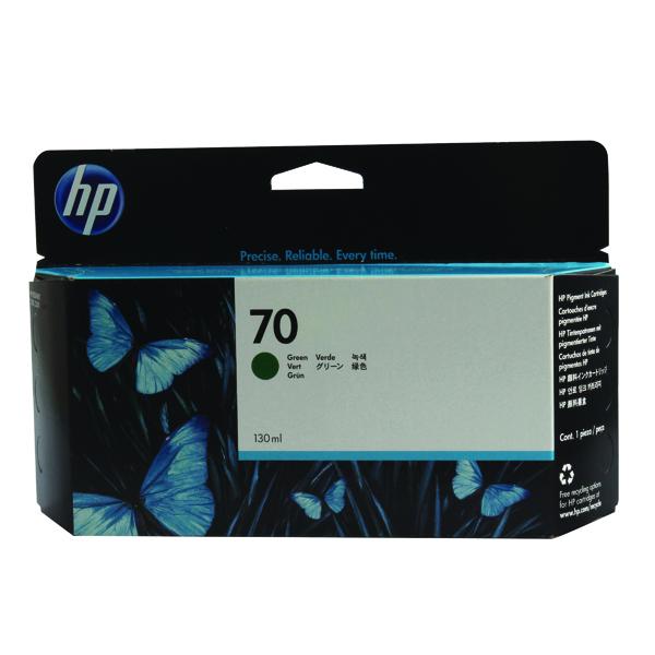 HP 70 Green Inkjet Cartridge (High Yield, 130ml) C9457A