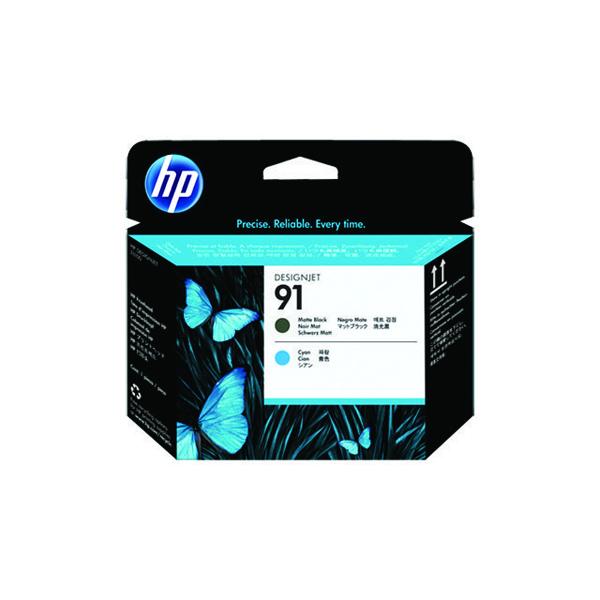 HP 91 Matte Black/Cyan Printhead C9460A