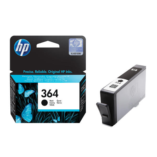 HP 364 Black Inkjet Cartridge CB316EE