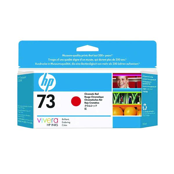 HP 73 Red Inkjet Cartridge (Standard Yield, 130ml Capacity) CD951A