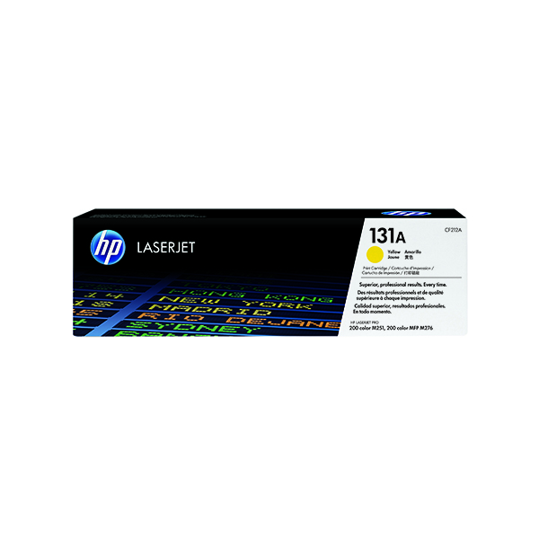 HP 131A Yellow Laserjet Toner Cartridge CF212A