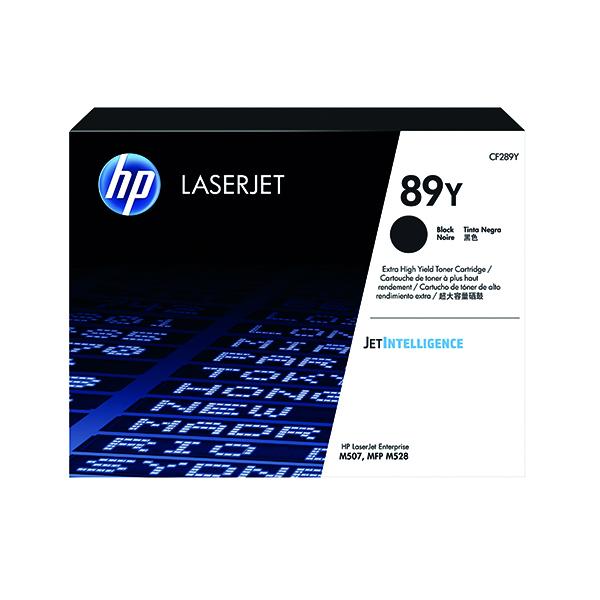 HP 89Y Black LaserJet Toner Cartridge CF289Y