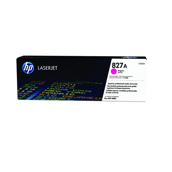 HP 827A Magenta Laserjet Toner Cartridge CF303A