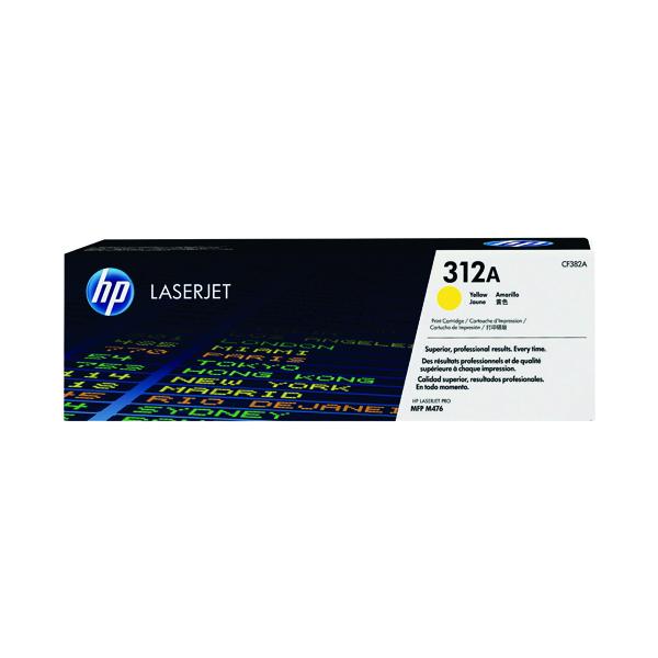 HP 312A Yellow Laserjet Toner Cartridge CF382A