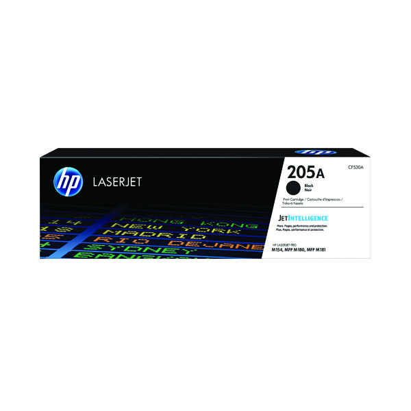 HP 205A Original Black LaserJet Toner Cartridge CF530A
