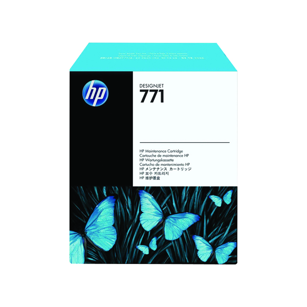 HP 771 Designjet Maintenance Cartridge CH644A