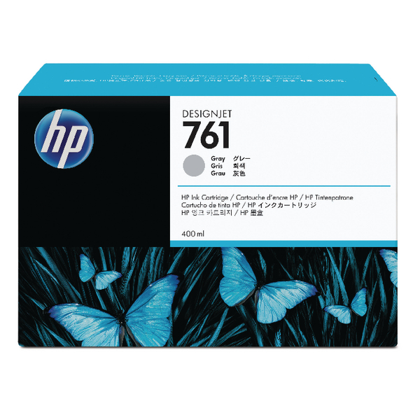 HP 761 Grey Designjet Inkjet Cartridge CM995A