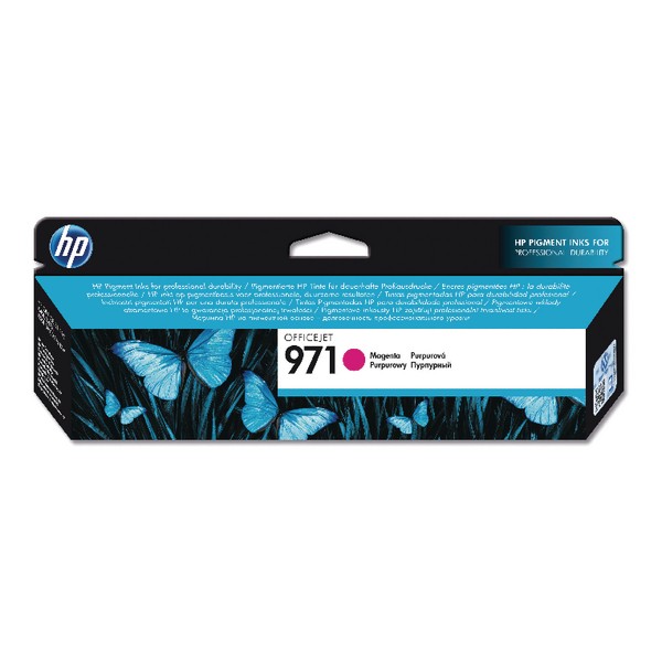 HP 971 Magenta Officejet Ink Cartridge CN623AE