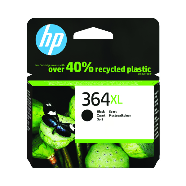 HP 364XL High Yield Black Inkjet Cartridge CN684EE