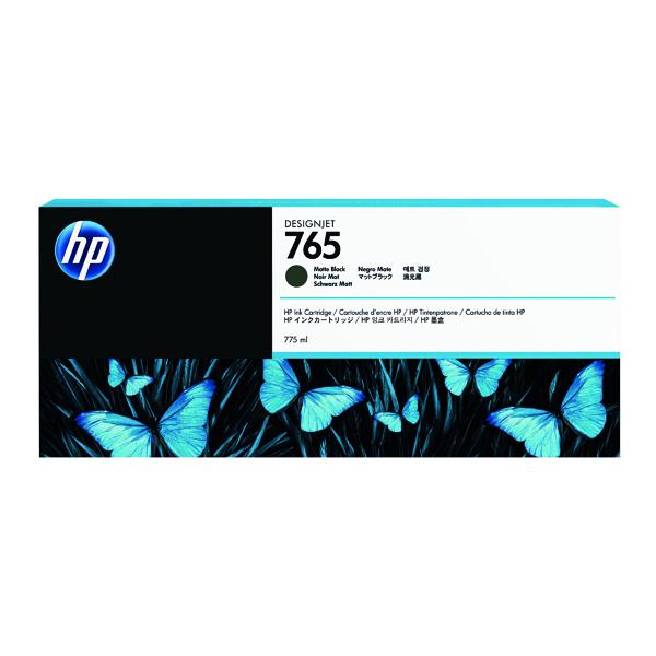 HP 765 Matte Black Original Ink Cartridge F9J55A