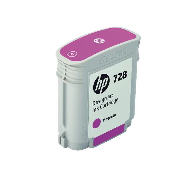 HP 728 DesignJet Ink Magenta Cartridge F9J62A