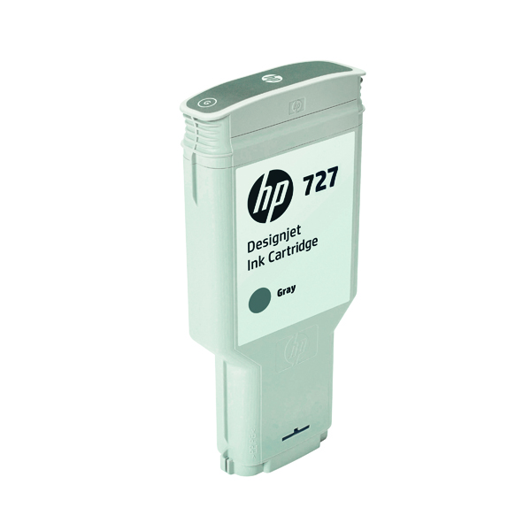 HP 727 DesignJet Grey Ink Cartridge 300ml F9J80A