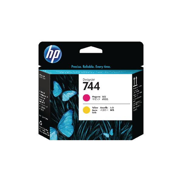 HP 744 Magenta and Yellow Printhead F9J87A