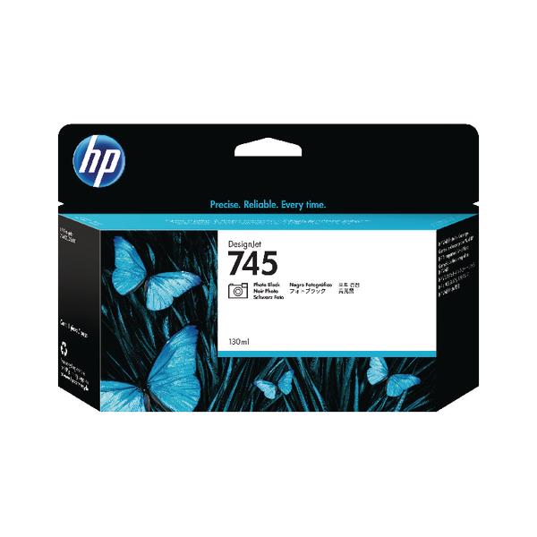 HP 745 DesignJet Photo Black Ink Cartridge 130ml  F9J98A