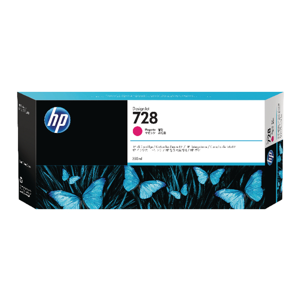 HP 728 Magenta Ink Cartridge F9K16A#BGX