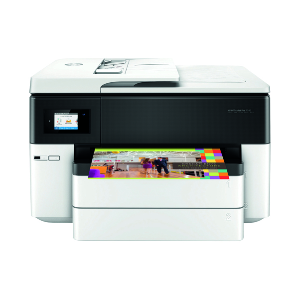 HP OfficeJet Pro 7740 Wide Format AiO Printer Colour A3 Print/Copy/Scan G5J38A