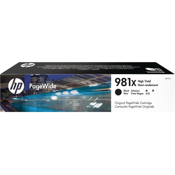 HP 981X PageWide HY Black Ink Cartridge L0R12A