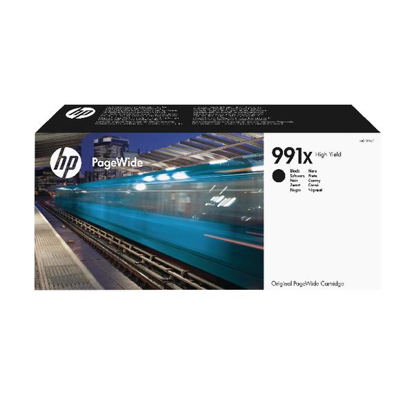 HP 991X High Yield Black Original PageWide Cartridge M0K02AE