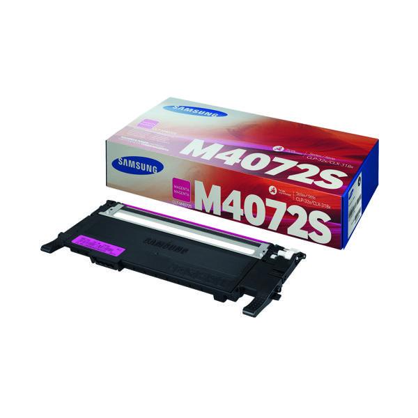 Samsung CLT-M4072S Magenta Standard Yield Toner Cartridge SU262A