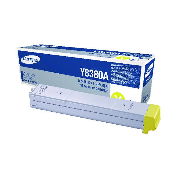 Samsung CLX-Y8380A Yellow Toner Cartridge SU627A