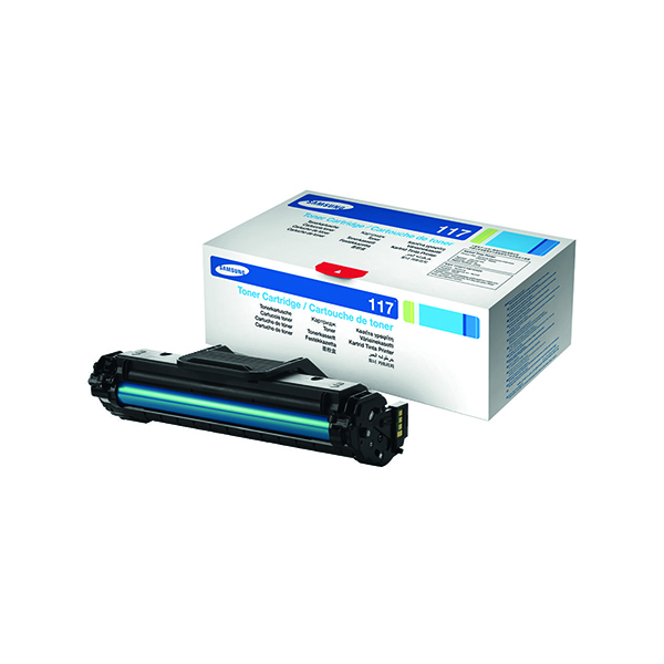Samsung MLT-D117S Black Standard Yield Toner Cartridge SU852A