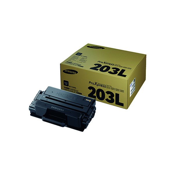 Samsung MLT-D203L Black High Yield Toner Cartridge SU897A
