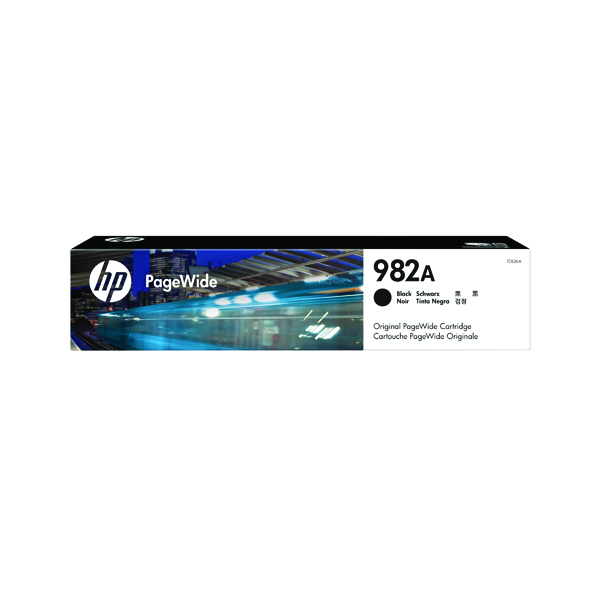 HP 982A Black Original PageWide Cartridge (Capacity: 10,000 pages) T0B26A