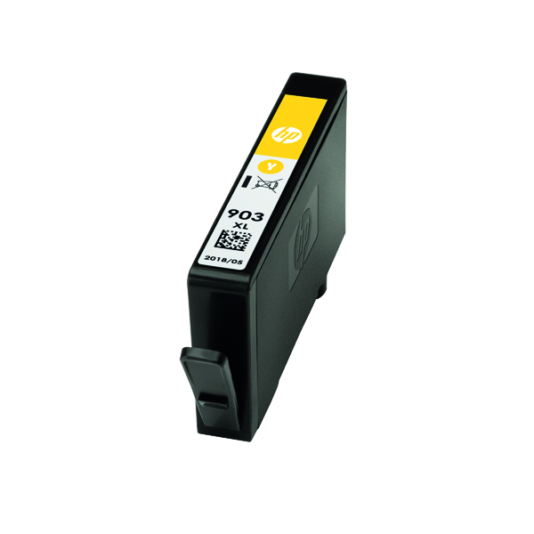 HP 903XL High Yield Ink Yellow Cartridge )Capacity: 825 pages) T6M11AE