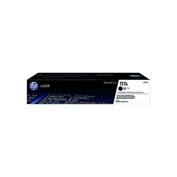 HP 117A Black Original Laser Toner Cartridge W2070A