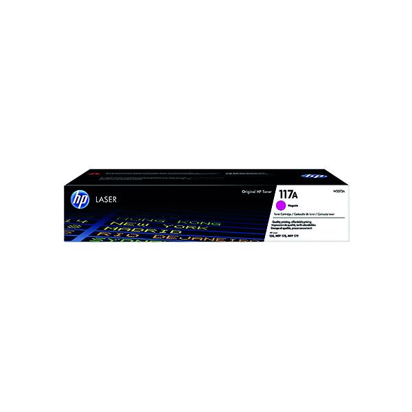 HP 117A Magenta Original Laser Toner Cartridge W2073A