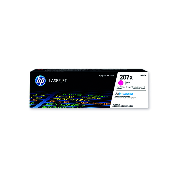 HP 207X LaserJet High Yield Toner Cartridge Magenta W2213X