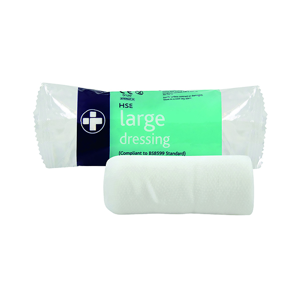 Reliance Medical HSE Sterile Dressing 180 x 180mm Large (Pack of 10) 317