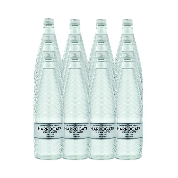 Harrogate Sparkling Spring Glass Bottle 750ml (Pack of 12) G750122C