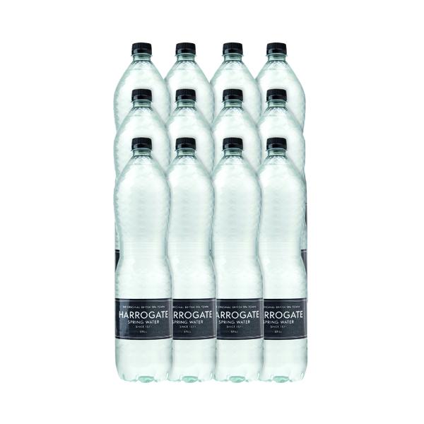 Harrogate Still Spring Water 1.5L Plastic Bottle P150121S (Pack of 12) P150121S