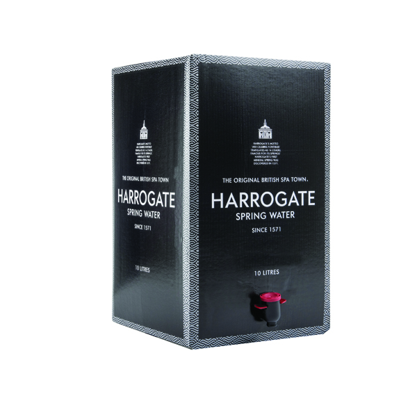 Harrogate Still Spring Water Bag in a Box of 10 Litre BOX 1015