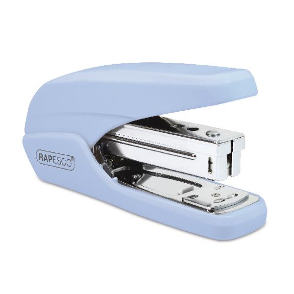 Rapesco X5-25ps Less Effort Stapler Powder Blue 1340