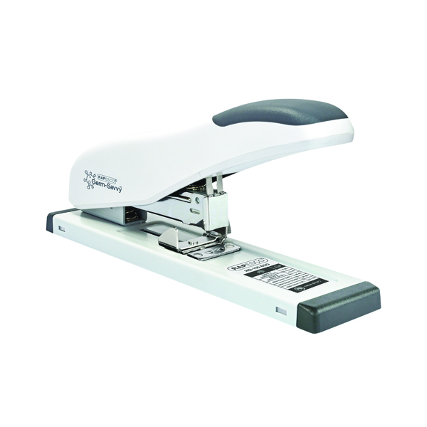 Rapesco ECO HD-100 Heavy Duty Stapler Capacity 100 Sheets White 1386