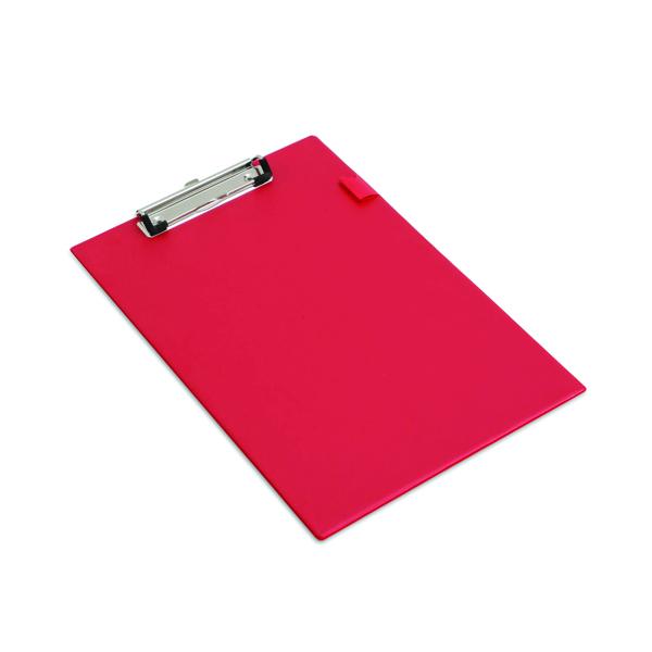 Image for Rapesco Standard Clipboard PVC Foolscap Red VSTCBOR3