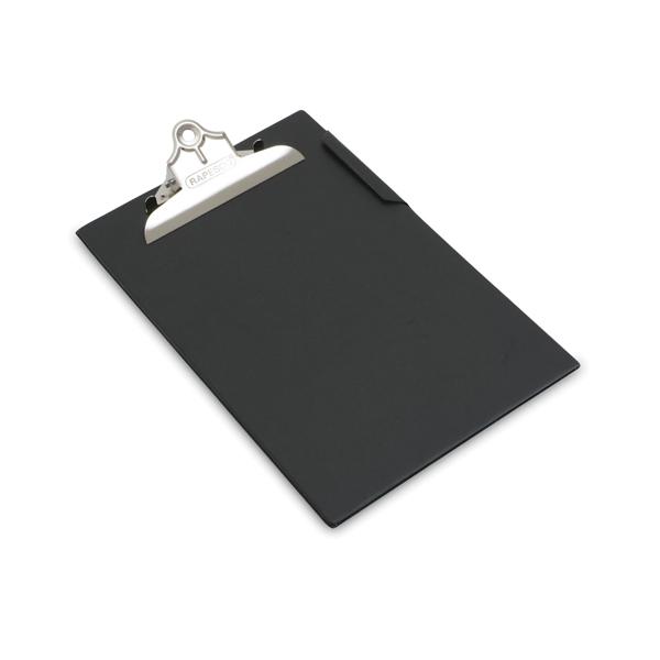 Image for Rapesco Heavy Duty Clipboard Foolscap Black CD1000B2