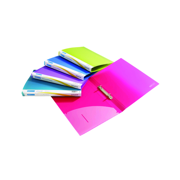 Rapesco 15mm Ring Binder A4 Assorted (Pack of 10) 0799