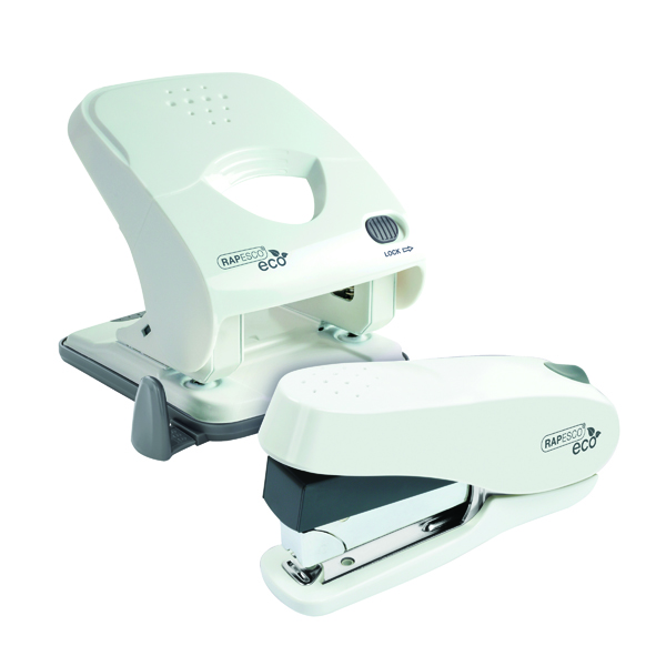 Rapesco ECO X5-40ps Hole Punch with ECO Stapler 1/2 Price