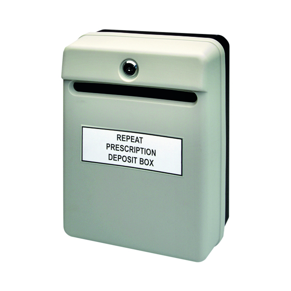 Helix Posting Suggestion Box Grey W81065