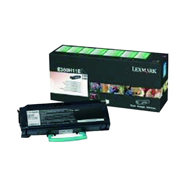 Lexmark Corporate Black Return Programme Toner 0E360H31E